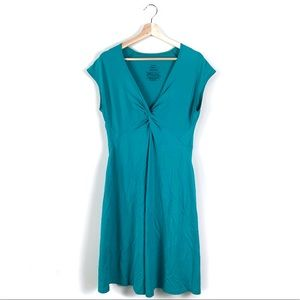 Patagonia Seabrook Bandha Teal Dress Large
